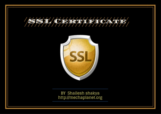 SSL-Certificate What is  SSL Certificate  in Web hosting