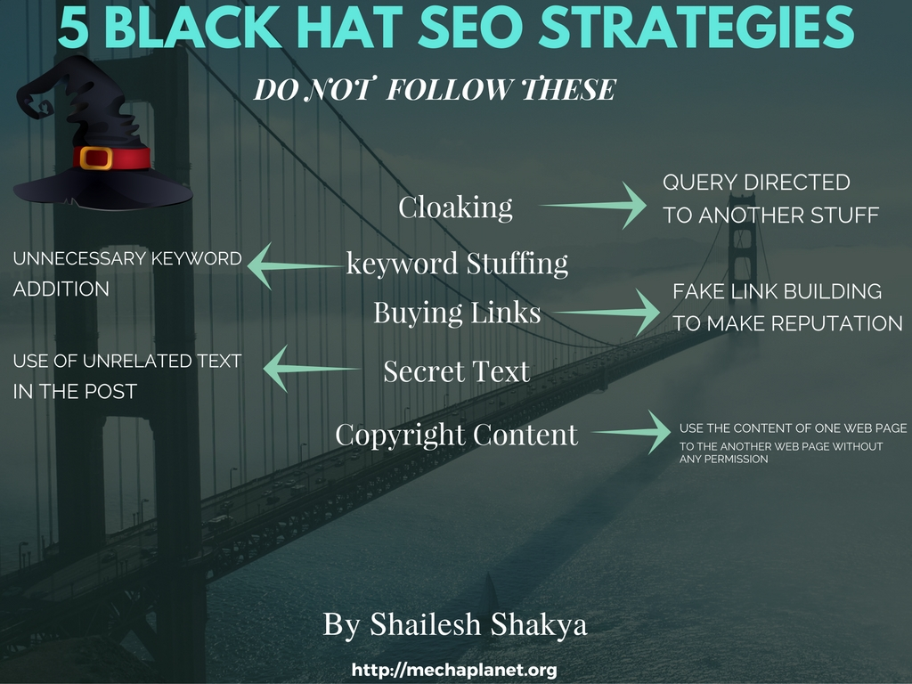 black-hat-seo-strategies 5 Black Hat SEO Strategies Should Never be Used